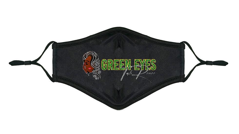 Green Eyes Face Mask