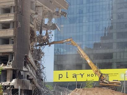בהריסות מבנים - לא לוקחים סיכונים!