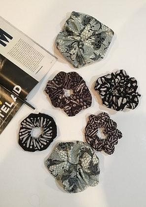 Batik Scrunchies