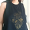 Thumbnail: Hand Made Batik Racerback Cropped Tank Top
