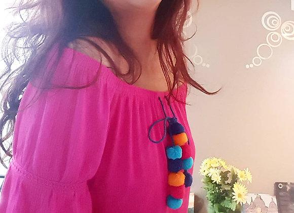 Pink Pom Dress by Avon