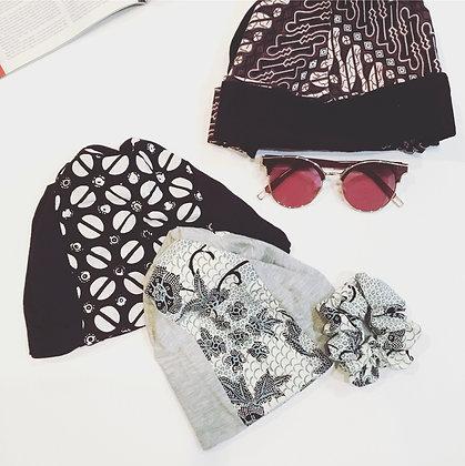 Batik Beanie Hat