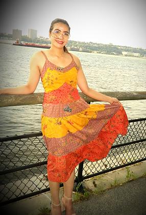Batik Beach Dress