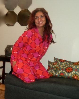 Joyful Beautiful Graphic Dot Pajama Set