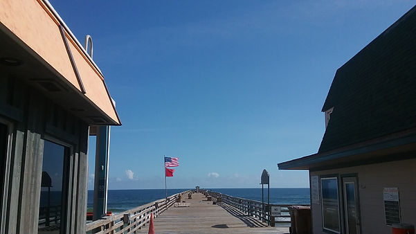 Flagler Beach Pier near our Flagler Beach chiropractic office