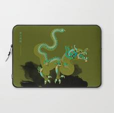 For Spring Equinox: Blue-green Dragon- Qing Long
