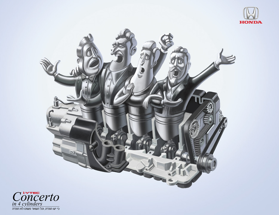 Honda Motors Adv.
