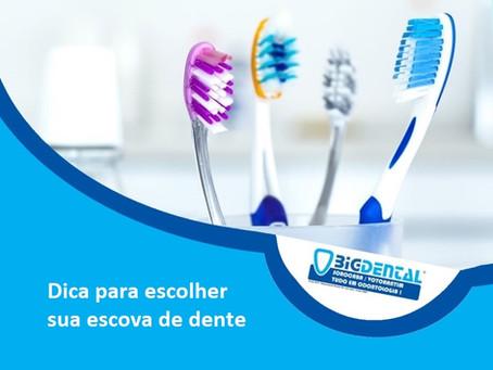 Dica para escolher sua escova de dente