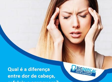 Qual é a diferença entre dor de cabeça, cefaleia e enxaqueca?