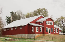 3GM Steel - Red Metal Barn