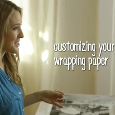 CREATIVE CRUSH WRAPPING PAPER