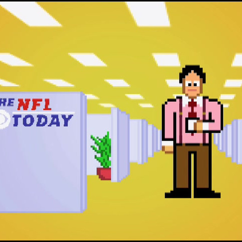CBS Sports NFL Today Pixel People Campaign President