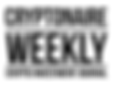 Cryptonaire Weekly LOGO_Black_White BG-1