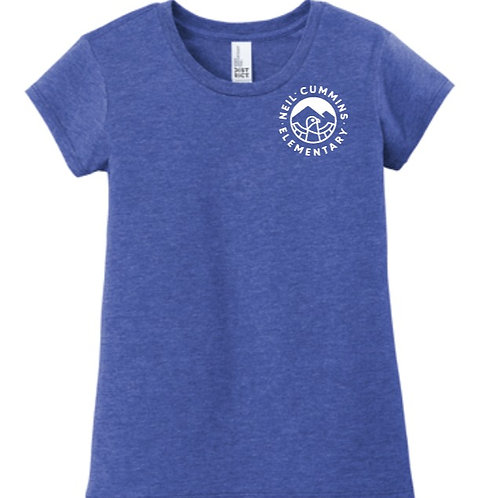 Youth Girls short sleeve T-shirt - multi color options