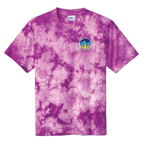 Youth Crystal Tie Dye T-shirt - multi color options