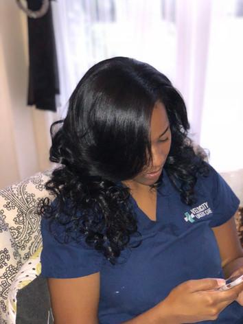 Braidless Sew In