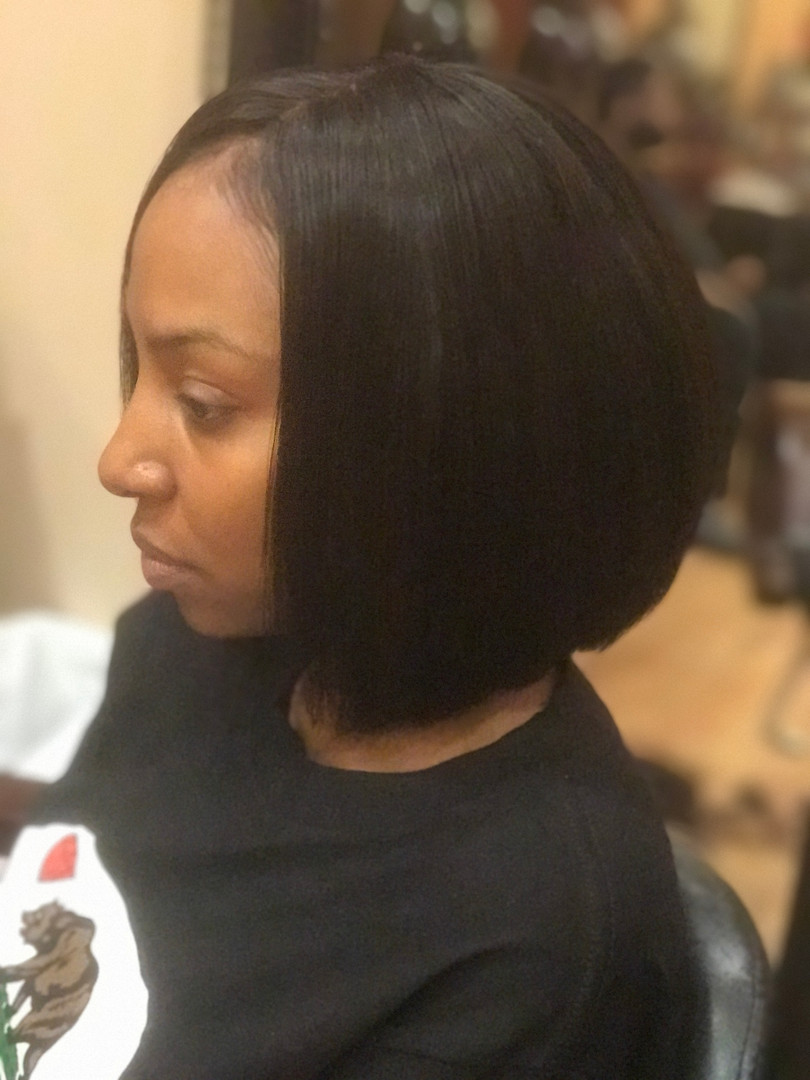 Sew In W Closure & Designer Cut