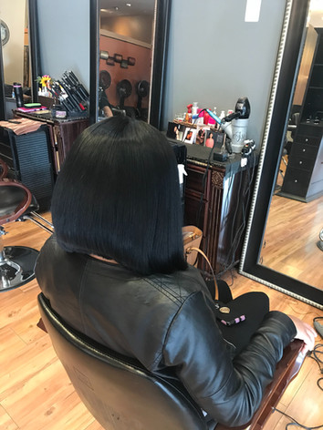 Lace Front Wig Back