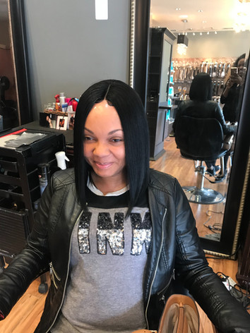 Lace Front Wig Front
