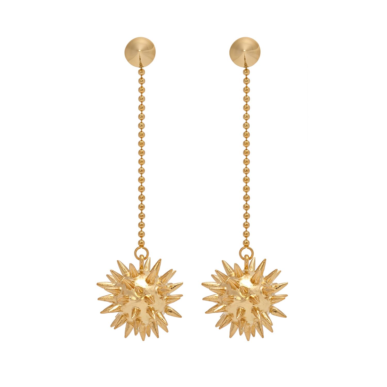 Morning Star Earrings gold