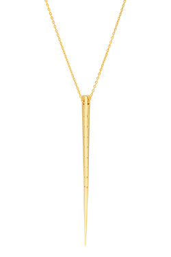 Icebreaker Necklace with yellow CZ