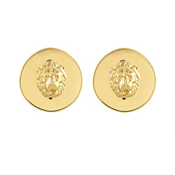 Lioness Coin Ear Clip