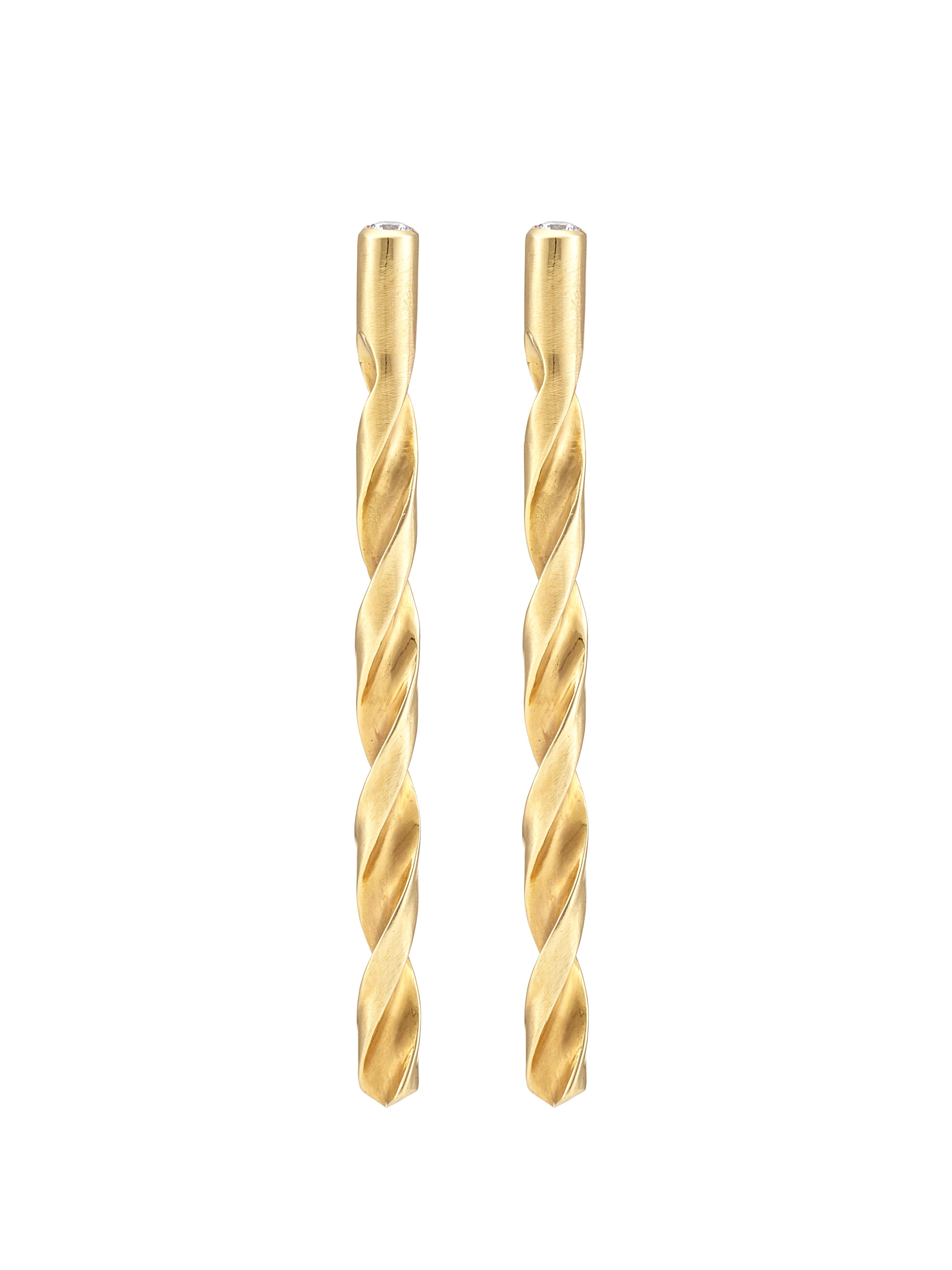 Drill Earrings