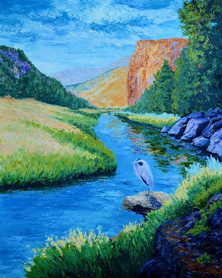 Smith Rock Heron
