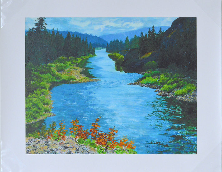 River Passage  -  Giclee Print on Canvas