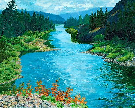 The Blackfoot River - Johnsrud 1