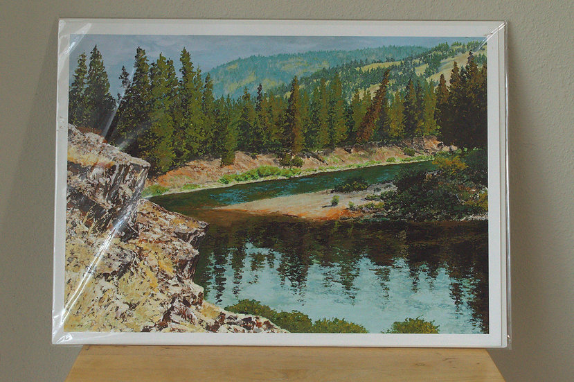 River Bend  -  Giclee Print on Paper