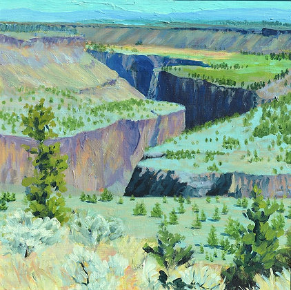 Crooked River Canyon Overlook