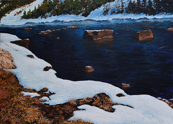 Blackfoot River - Winter