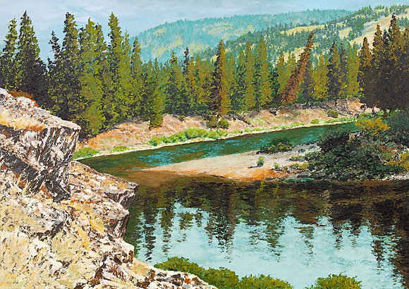 The Blackfoot River - Johnsrud 2