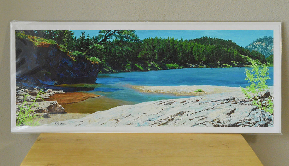 Afternoon on The River  -  Giclee Print on Paper