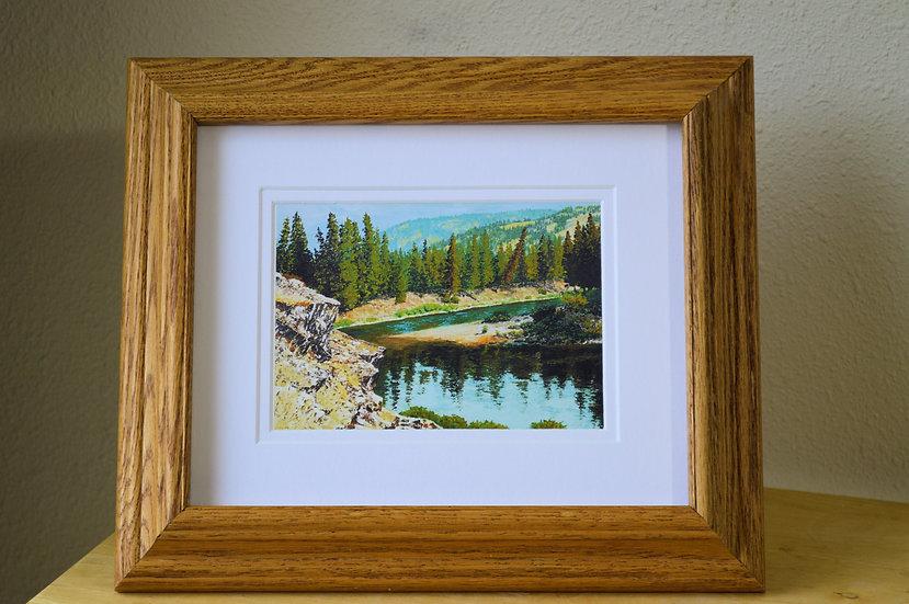 River Bend  -  Digital Print