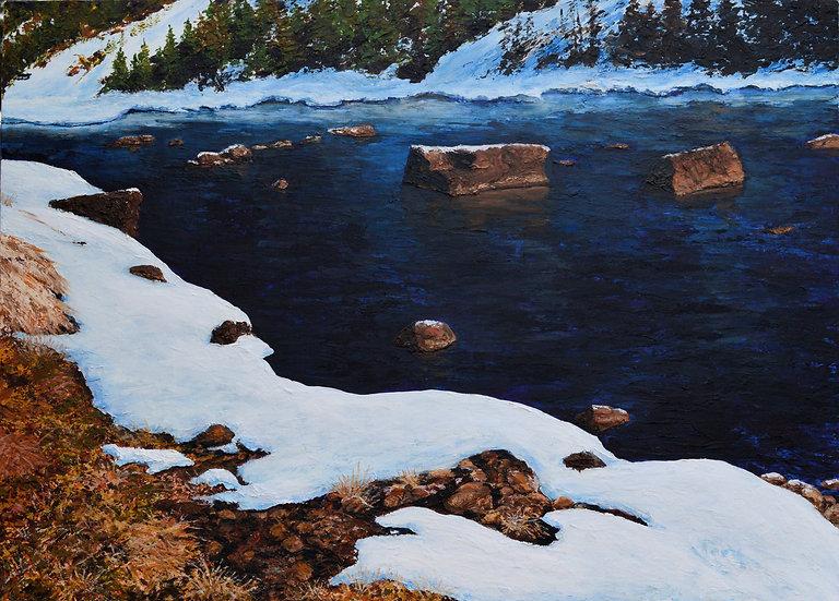 Blackfoot River Winter