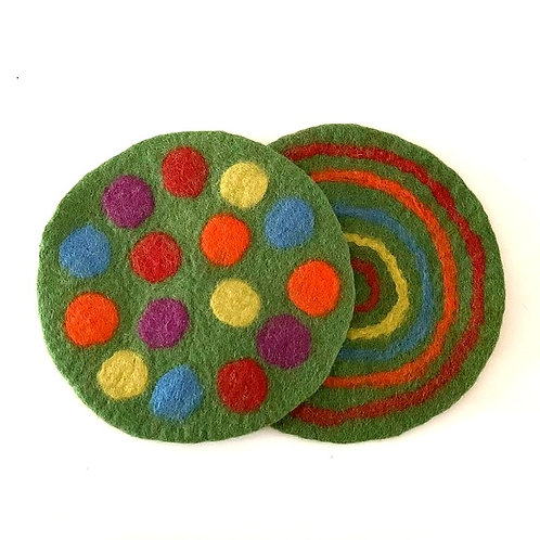 Placemats Round - Set of 2
