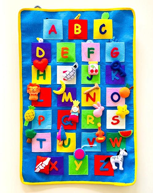 Alphabet Felt Chart