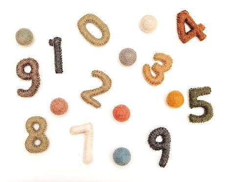 Numbers Natural 0-9 7cm