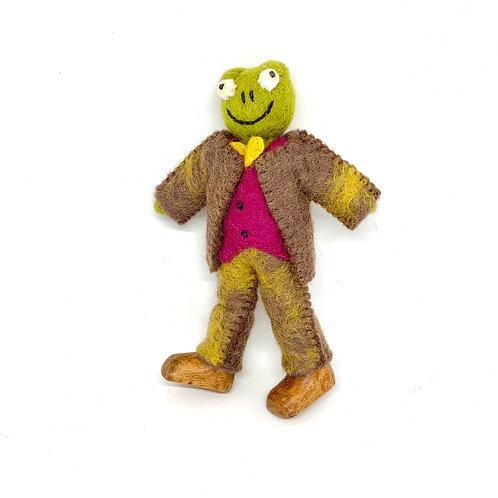 Felt Mr Toad Doll