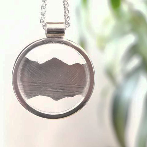 Great Gable Pendant - Silver