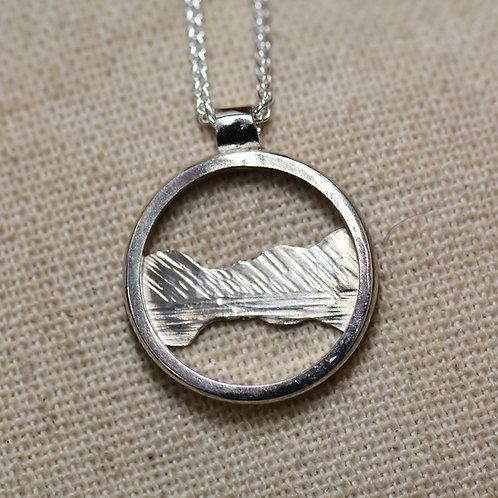 Buttermere Pendant - Silver