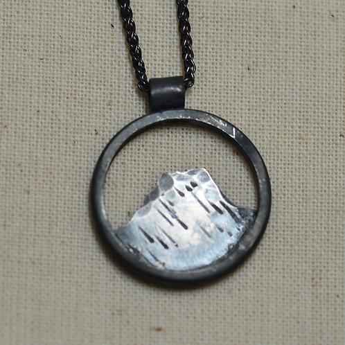 Helvellyn - Oxidised silver