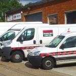 Nationwide Handling - Company Vans - Pallet Trucks