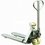 Lift-It ZFS20S Stainless Steel Weigh Scale Hand Pallet Truck