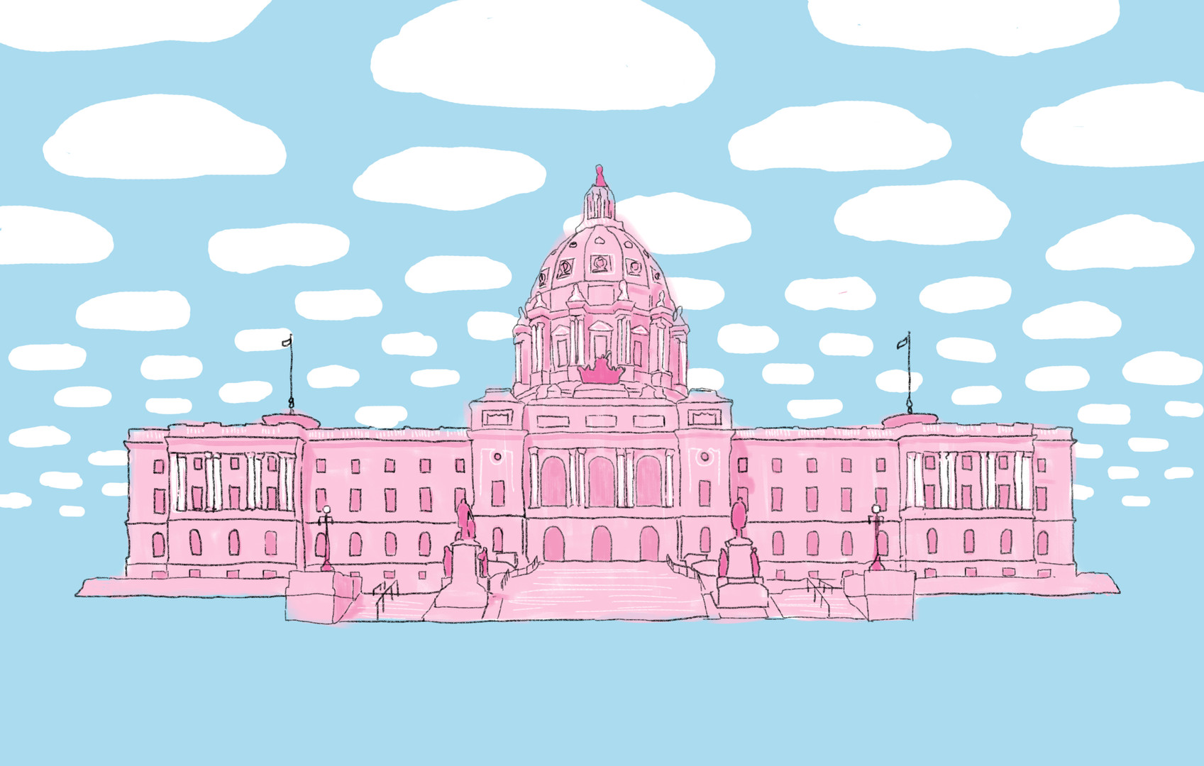 Illustration for MN Daily