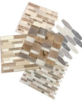 Peel and stick tiles for backsplash
