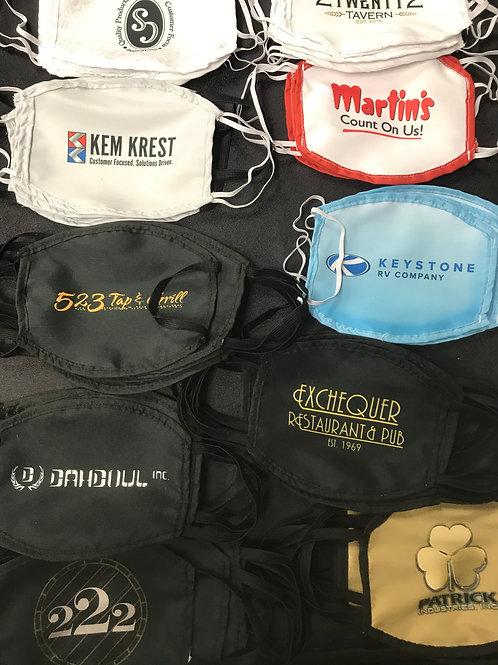 Custom Printed Reusable/Washable Face Masks