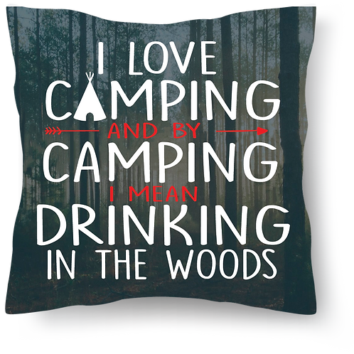 Throw Pillows - Camping Theme